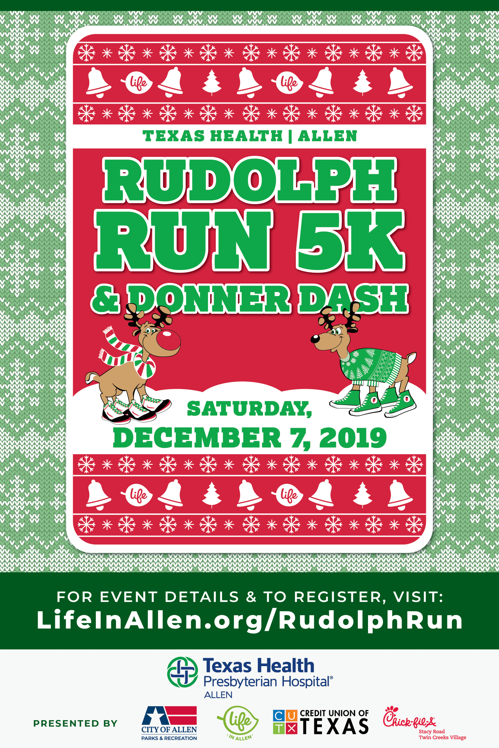 2019 Rudolph Run and Donner Dash